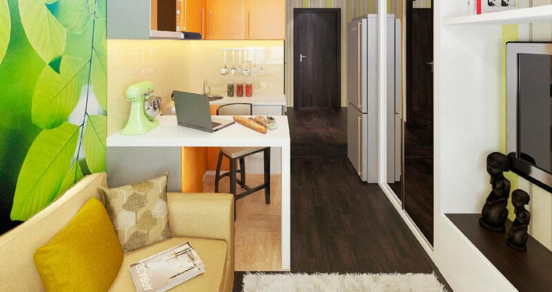 Квартира гостиничного типа; как должна выглядеть планировка гостинки