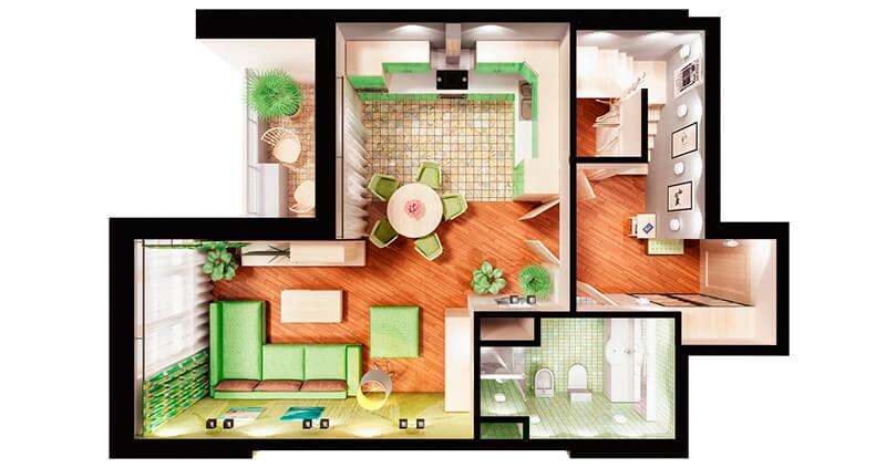 Основные типы домов